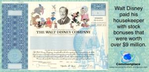 #Disney #stock #housekeeper #money