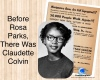 #CivilRights #ClaudetteColvin