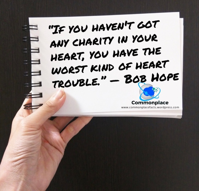 #BobHope #quotes #charity
