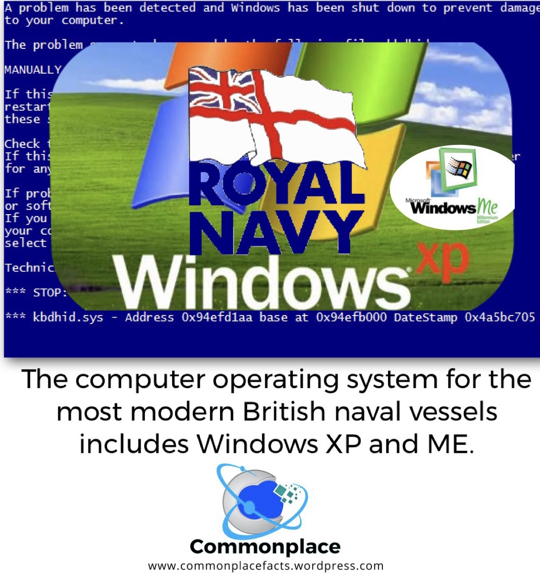 #WindowsXP #WindowsME #Navy #Computers