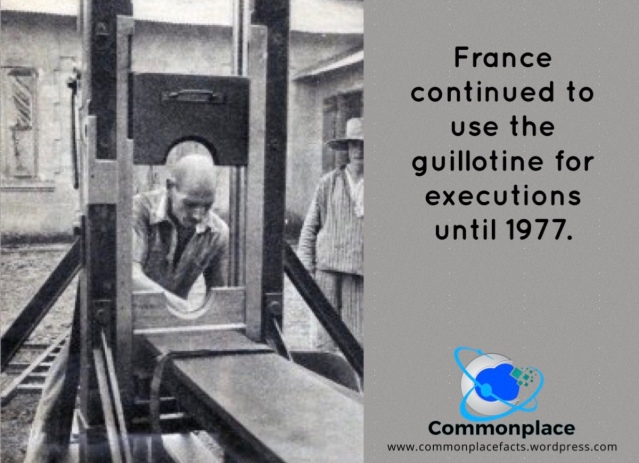 #France #guillotines #capitalpunishment #deathpenalty #executions