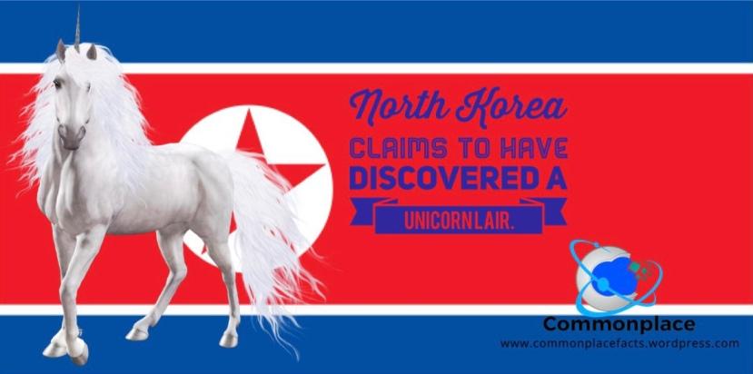 #unicorns #NorthKorea #mythology
