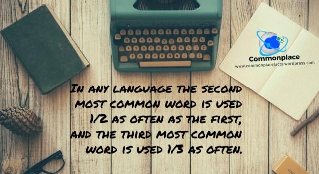 #ZipfsLaw #languages #funfacts