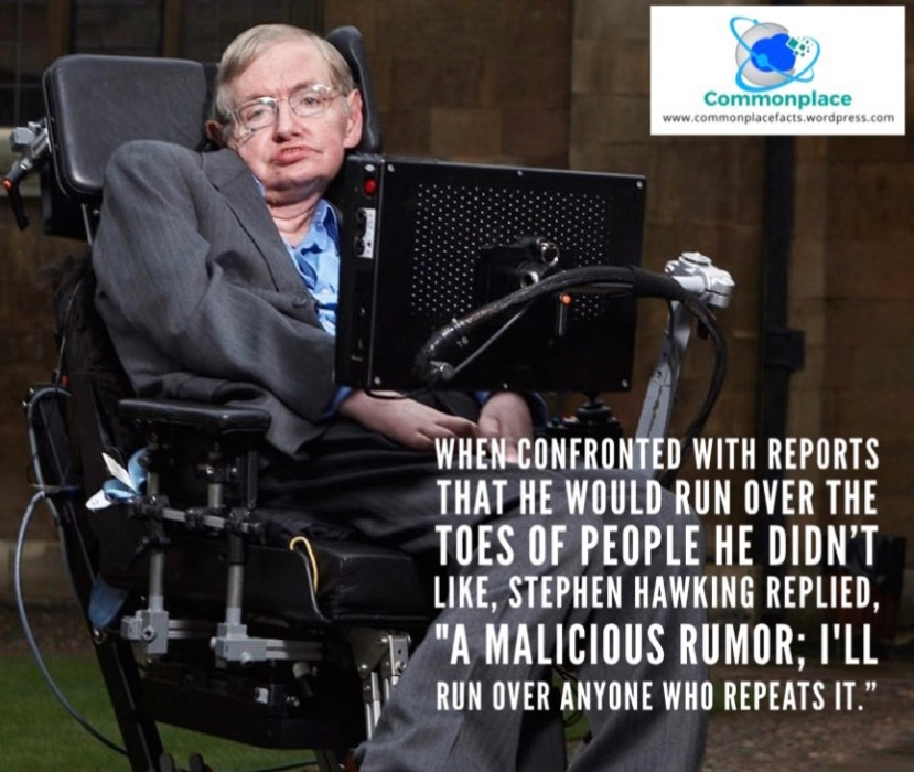 #Hawking #quotes #humor #rumors