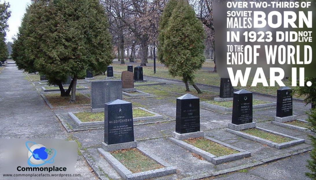 #USSR #WorldWarII #WWII #SovietUnion #1923 #mortality