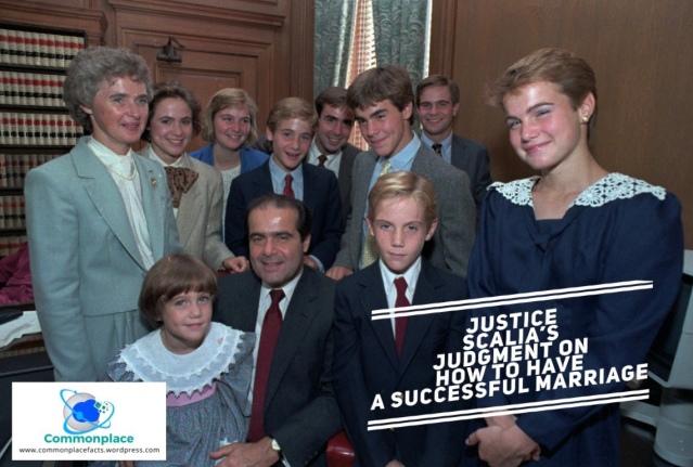 #Scalia #antoninscalia #quotes #family #humor #marriage