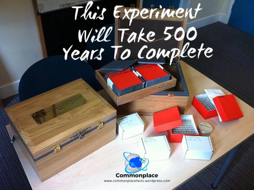#UniversityofEdinburgh #experiments #500yearexperiment #science