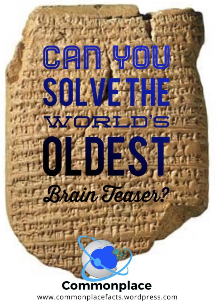 #brainteasers #riddles #Sumerian #languages #translations
