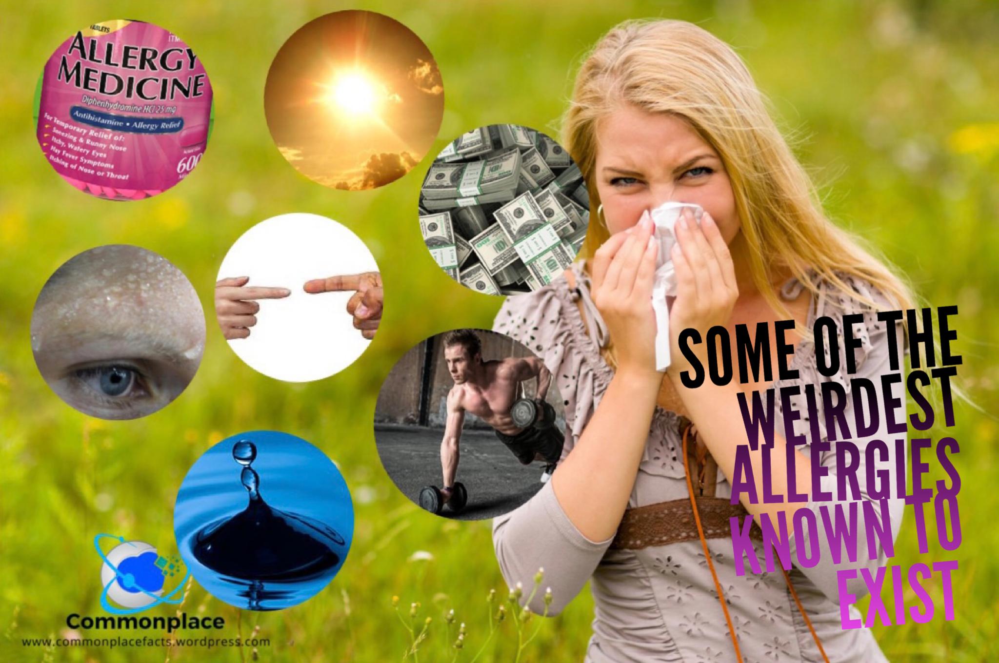 #allergies #allergens #allergic #WeirdAllergies #StrangeAllergies #Health