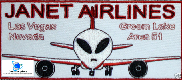 #Area51 #JanetAirlines #aliens #aviation