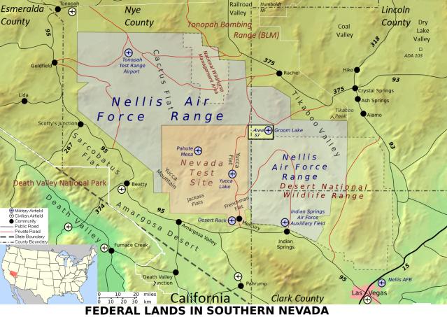#Area51 #GroomLake #NellisTestRange #NevadaTestSite