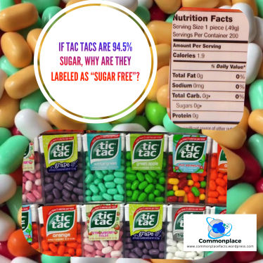 #TICTAC #Sugar #nutrition #food #calories #sugarfree