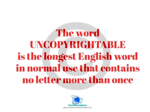 #English #LongestWord #uncopyrightable