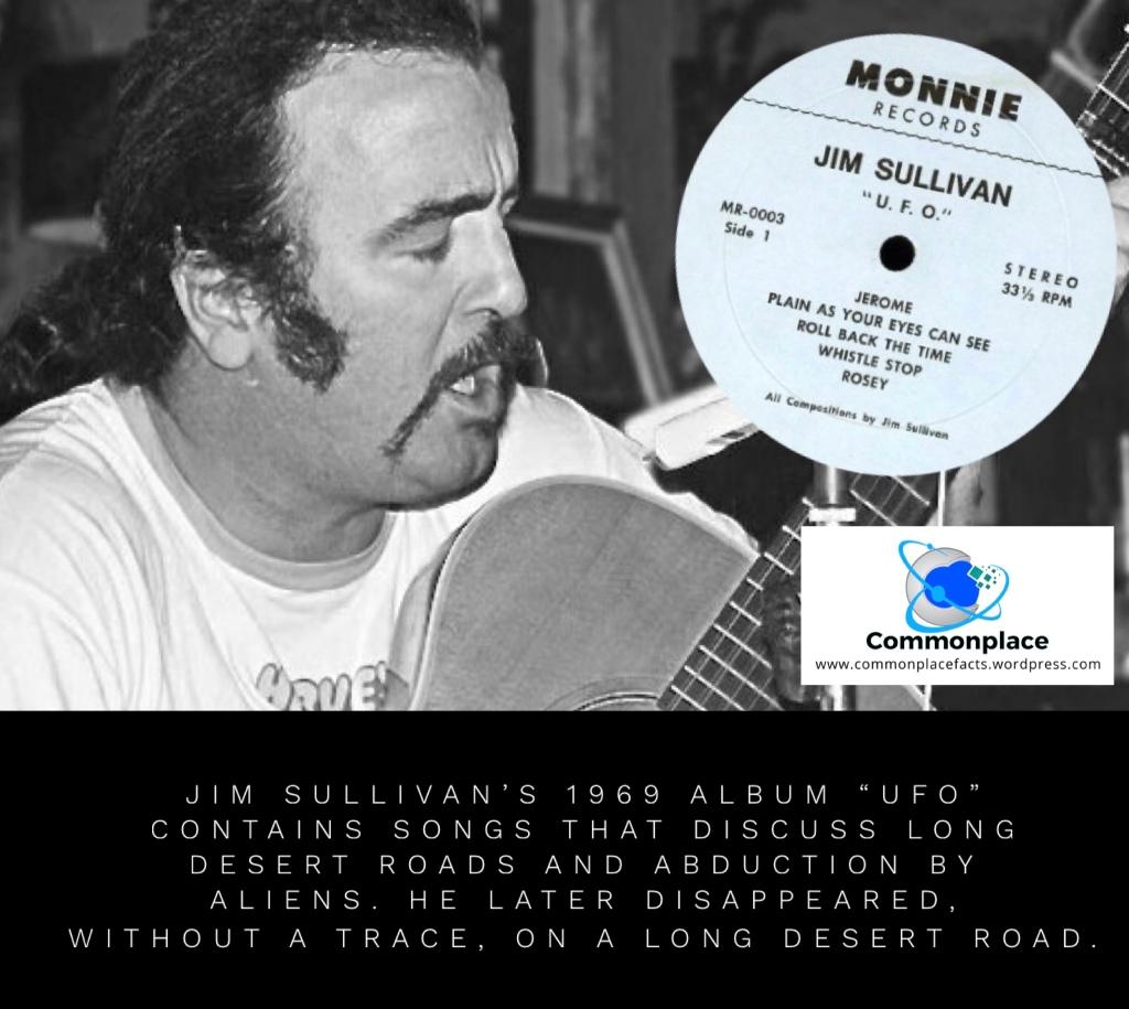 #UFO #JimSullivan #songs #coincidences #mysteries