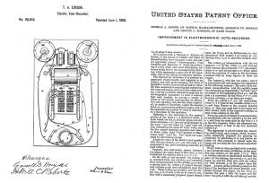 #patent #Edison #voting #inventions