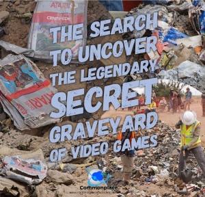 Atari Video Game Graveyard