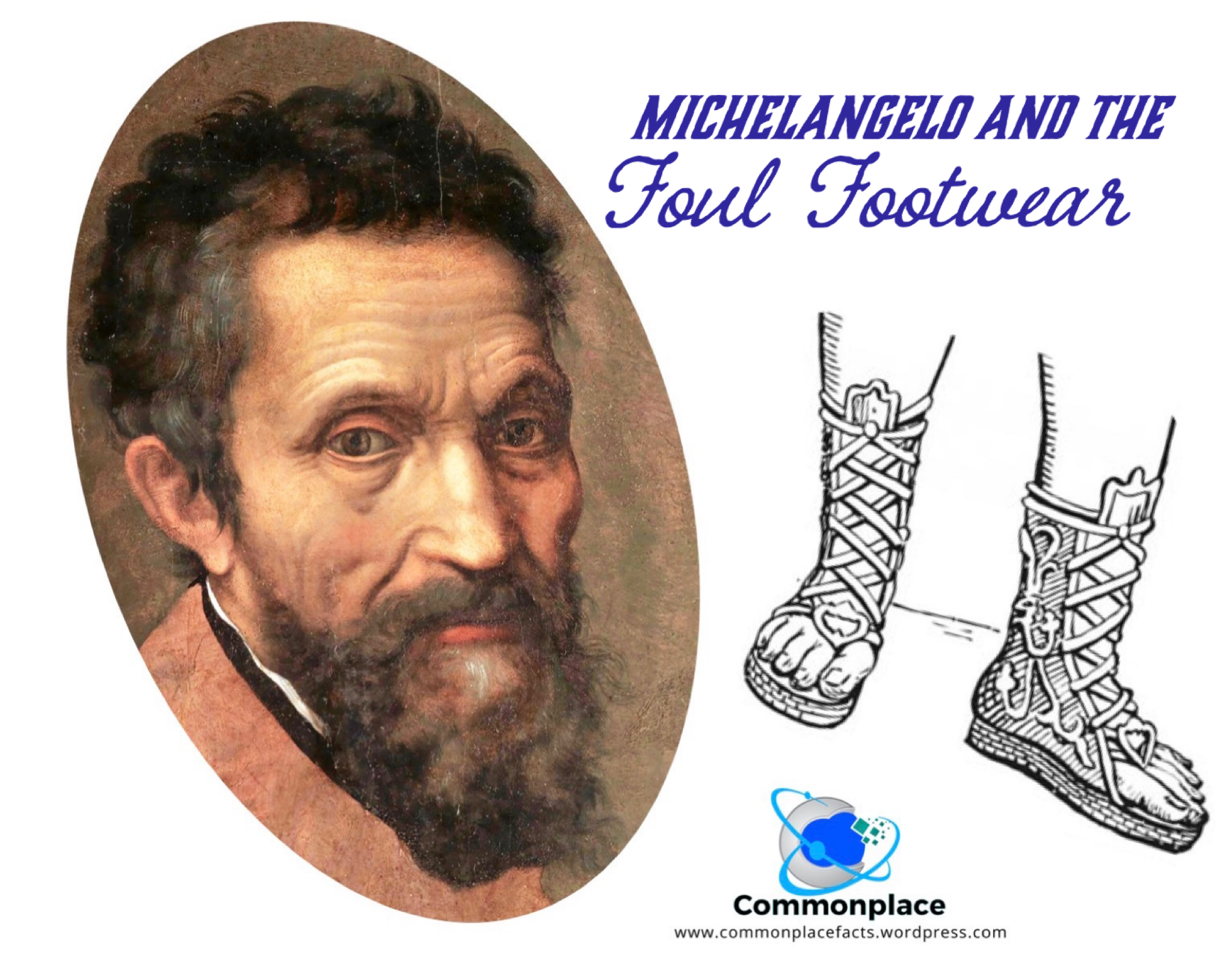 #Michelangelo #footwear #hygiene #artists #art