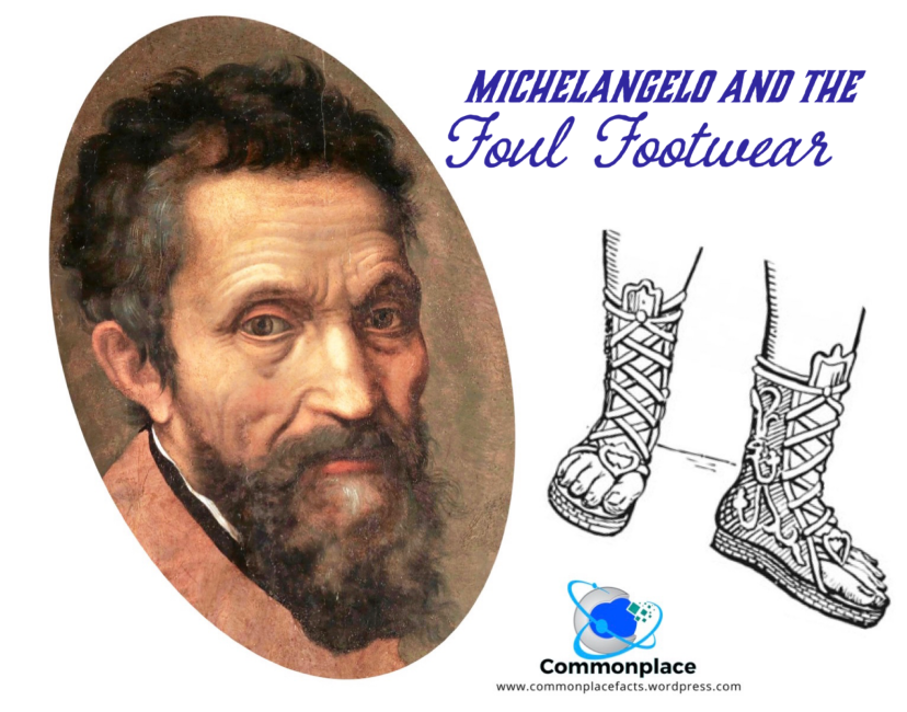 #Michelangelo #footwear #hygiene #artists #art