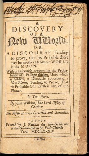 John Wilkins Discovery of a New World
