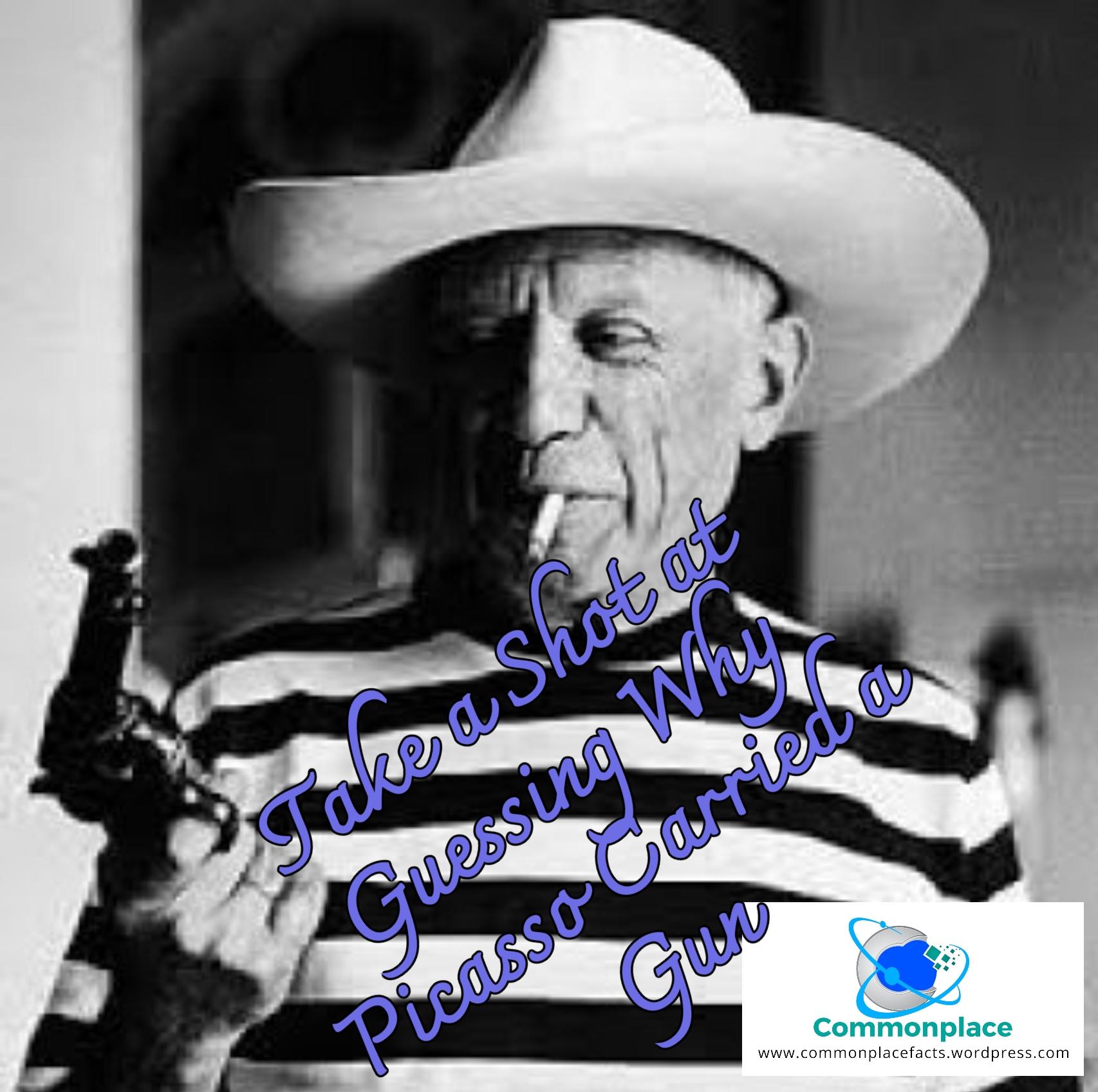 #Artists #Picasso #guns #art