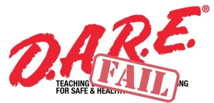 #DARE #D.A.R.E. #drugs #education