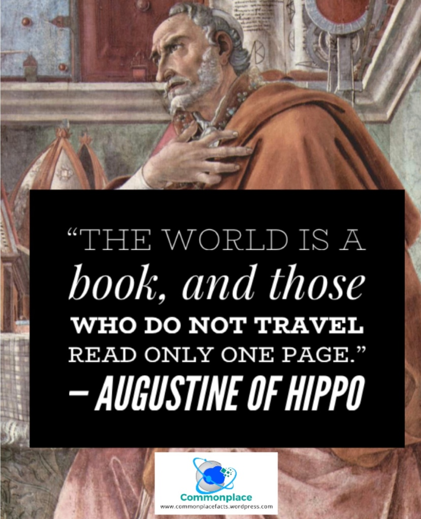 #Augustine #quotes #travel