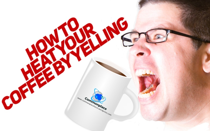 #physics #science #coffee #temperature #yelling How to heat your coffee by yelling