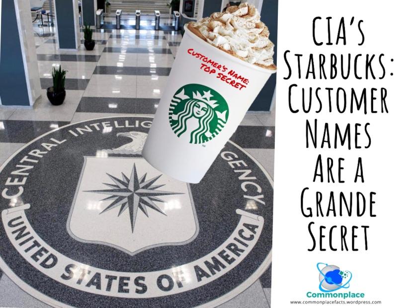#Starbucks #Coffee #CIA