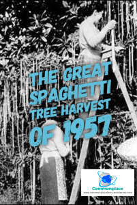 #BBC #Spaghetti #hoaxes #pranks