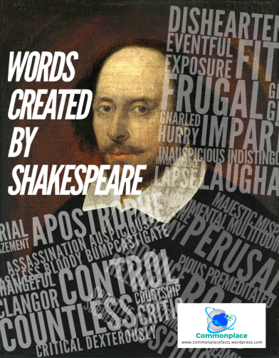 #Words created by #Shakespeare #WordOrigins #literature
