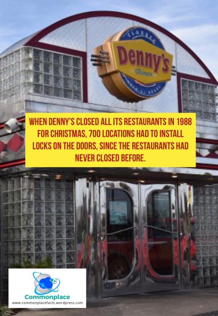 #Denny's #Christmas #restaurants #funfacts