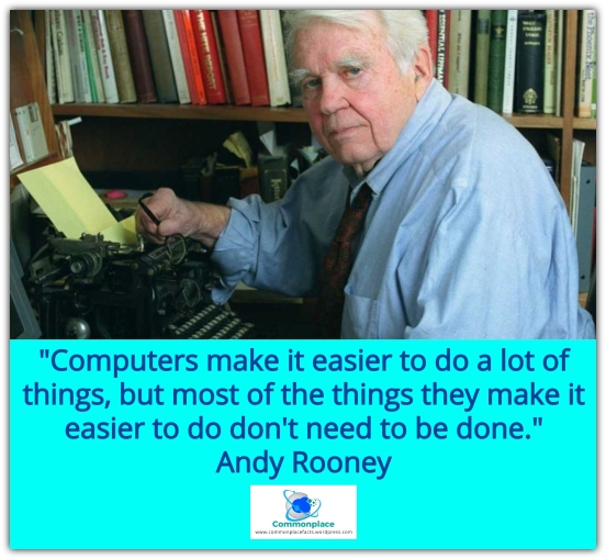 #AndyRooney #funnyquotes #quotes #Computers