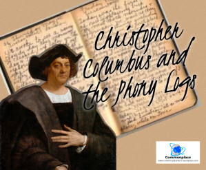 #Columbus #History #deception #exploration phony log books