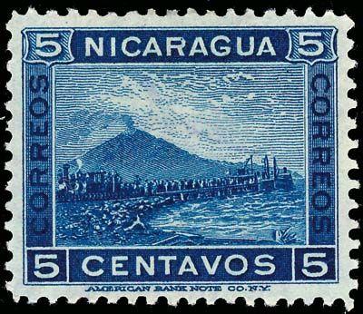 #Nicaragua #Volcanoes #stamps