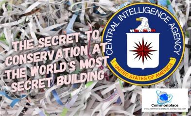 #CIA #secrets #environment #environmentalism #conservation #shredding #burning