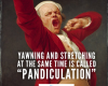 #Pandiculation #Lexicon #pandiculate #yawn