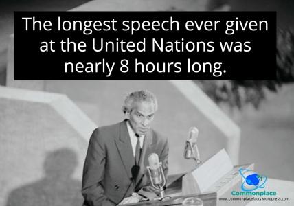 Menon longest speech