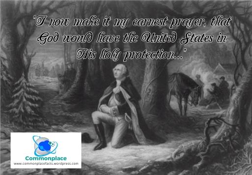 George Washington's prayer for the nation