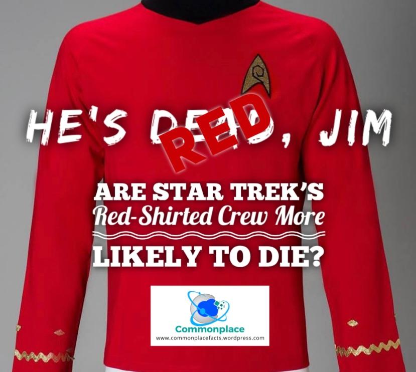 #StarTrek #RedShirt #statistics #mathematics #probability #uniforms