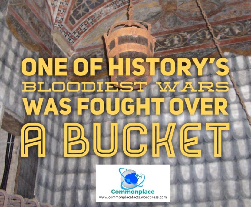 #history #wars #warfare #buckets #WarOftheOakenBucket