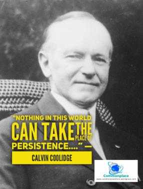 #CalvinCoolidge #persistence #quotes #inspiringquotes