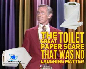 #ToiletPaperScare #JohnnyCarson #hoaxes #toiletPaper