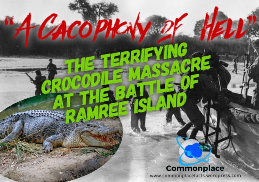 #RamreeIsland #WWII #crocodiles #saltwatercrocodiles #history