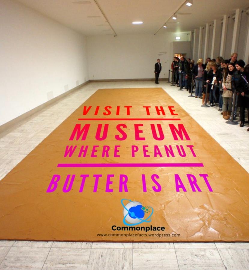 #Art #PeanutButter #PeanutButterFloor #ContemporaryArt