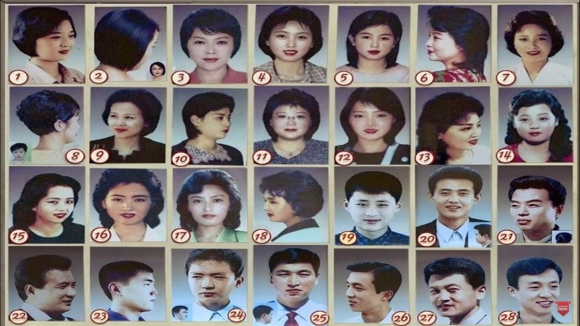 North Korea Haircuts