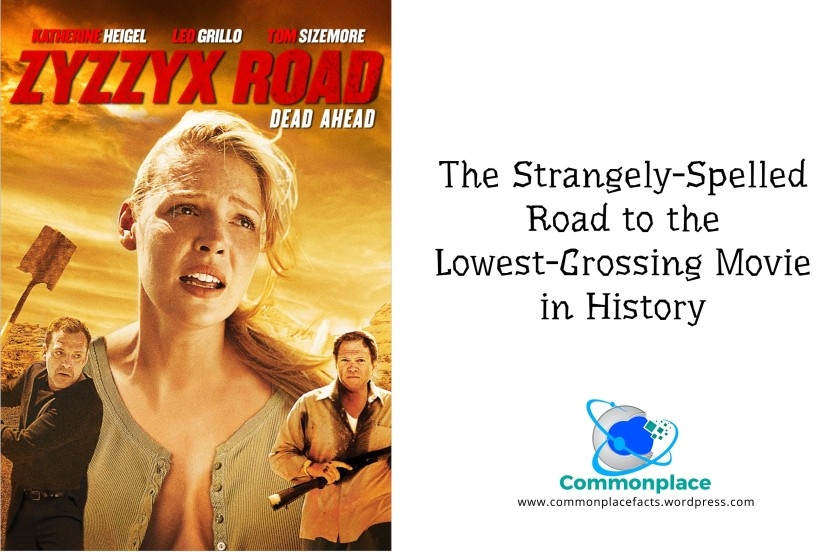 The lowest-grossing movie in history