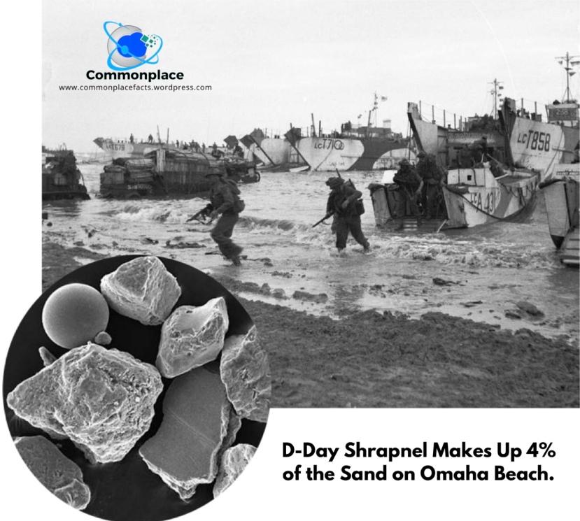 #WWII #D-Day #sand #OmahaBeach