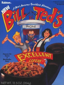 bill and ted cereal