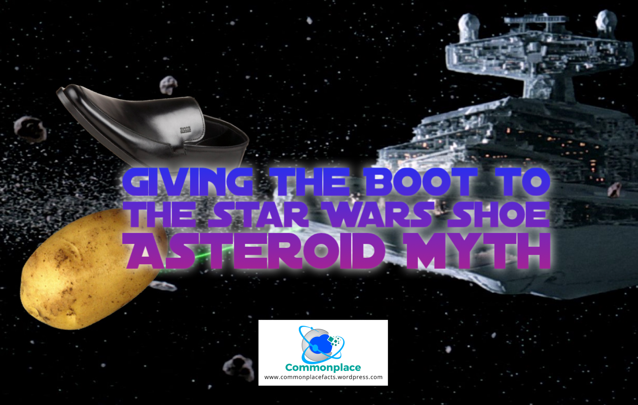 Star Wars Asteroid Shoe Potato asteroids