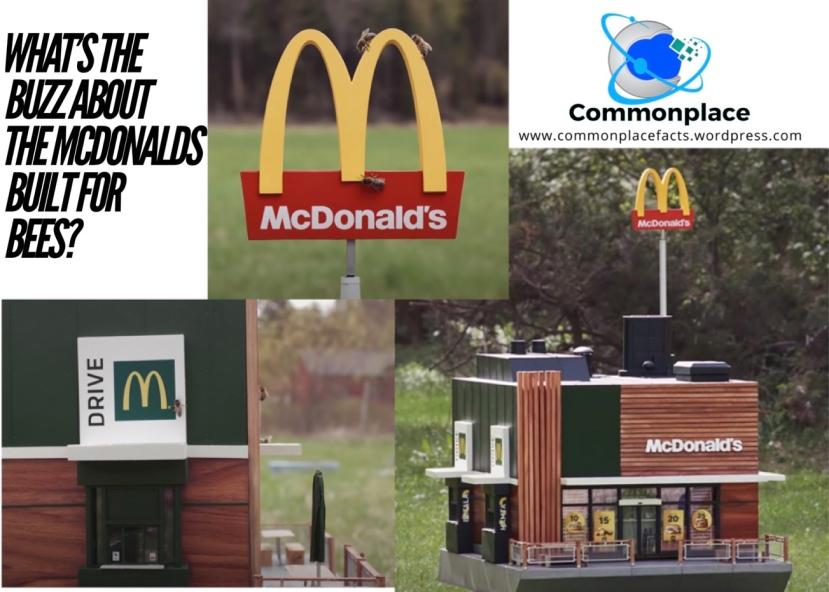 #McDonalds #bees #McHive
